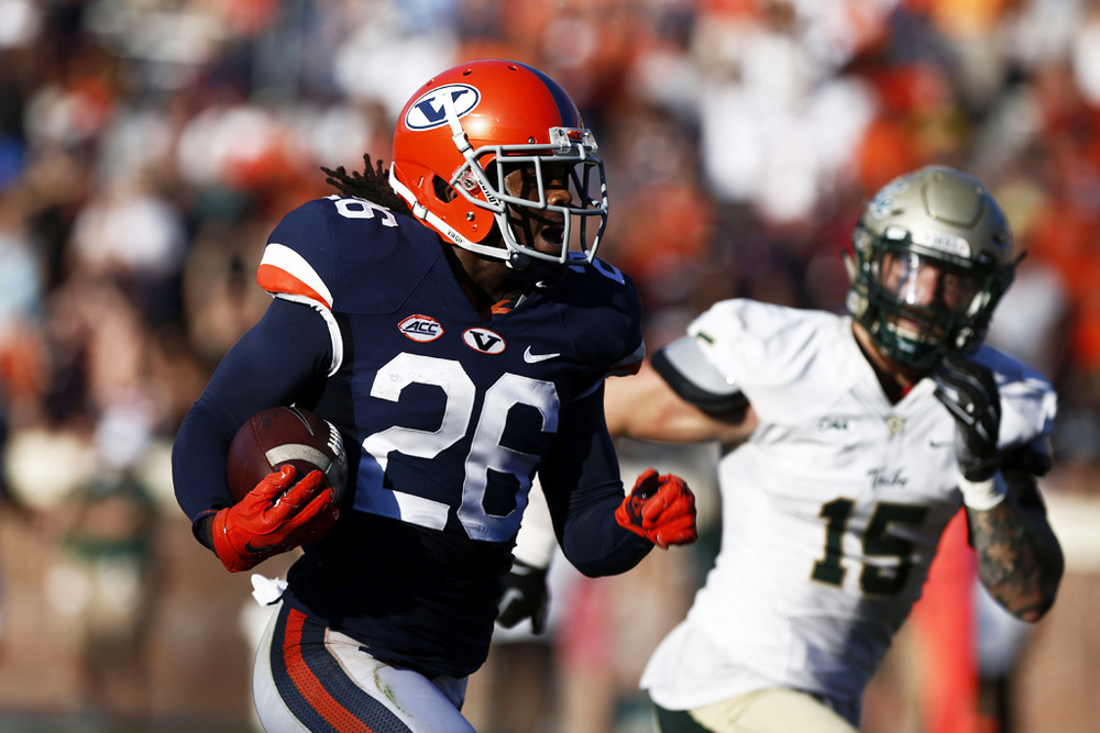 06de8d3ef57 (Source) UVA s awesome home uniforms worn in a 35-29 win over William and  Mary.